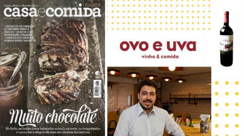 [:pb]Sommelier do Ovo e Uva dá dicas de vinho em reportagem da revista Casa e Comida[:]